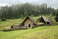 Celtic settlement-Open-Air Archaeological Museum Liptovska Mara - Havranok, Slovakia 1.jpg