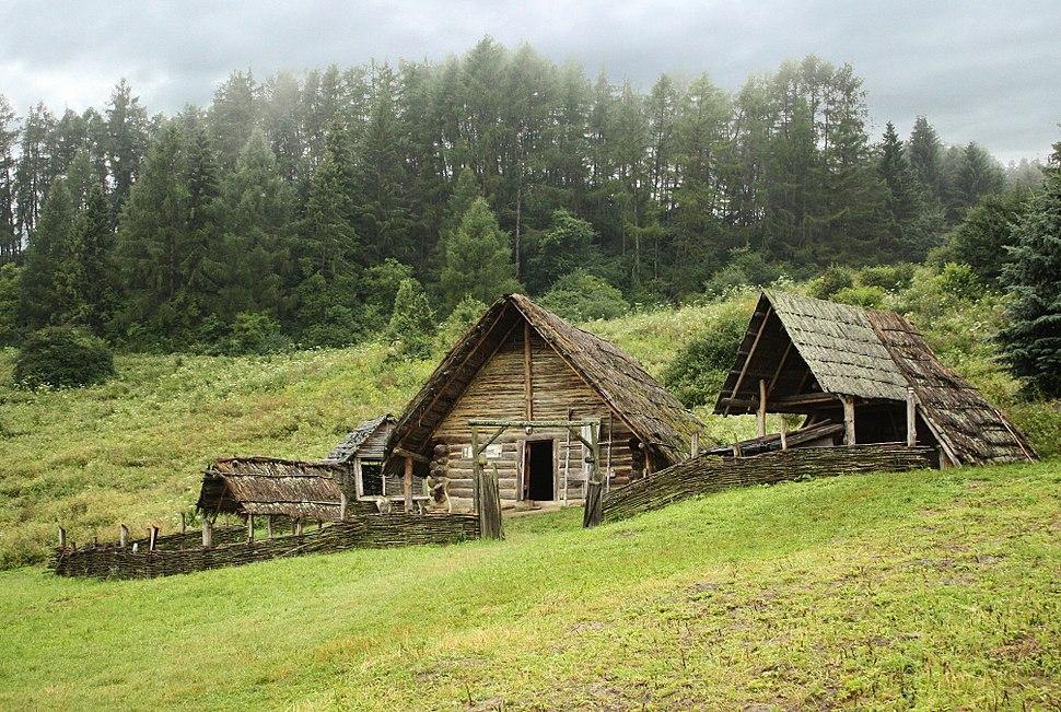 Celtic settlement-Open-Air Archaeological Museum Liptovska Mara - Havranok, Slovakia 1