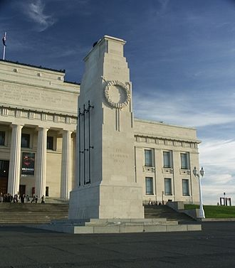 Cenotaph - The Cenotaph, Auckland, New Zealand