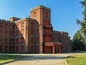 The Center Building at St. Elizabeths Hospital...