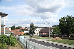 Center of Křelovice, Pelhřimov District.jpg