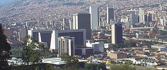 Pontifical Bolivarian University - Medellín is the main seat of the university.