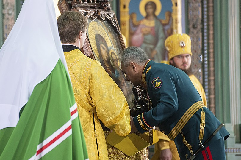 Ceremony of consecration of the Main temple 06.jpg