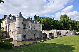 The Château of Saint-Denis-sur-Loire