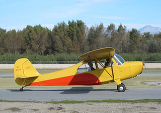 Aeronca Champion general aviation aircraft family by Aeronca in the United States