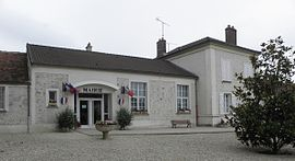 The town hall in Champcenest