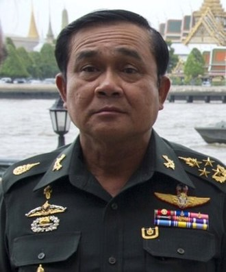 Military dictatorship - Thailand's Prime Minister Prayut Chan-o-cha in 2014