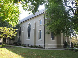 National Register of Historic Places listings in Montgomery County, Tennessee - Image: Chapel side