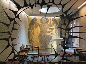 Steven Sykes (artist) - Chapel Of Christ In Gethsemane, Coventry Cathedral, 1959–1960