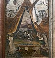 Chapel of Pius V Santi Giovanni e Paolo (Venice) - Battle of Chioggia - Fresco by Lorenzino di Tiziano (late sixteenth century).jpg