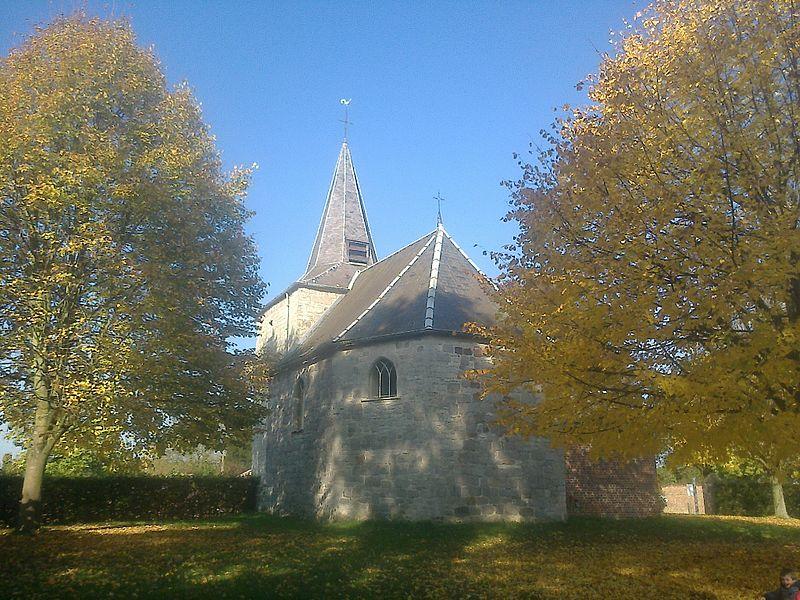 Chapelle Saint-Feuillen, à l'exception de la sacristie