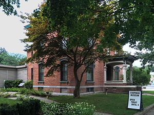 Zopher Delong House - Now home of the Chapman Museum