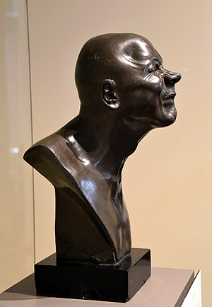 Franz Xaver Messerschmidt - Character Study Strong Smell, circa 1770-1781 CE. From Austria, Pressburgh, now Slovakia, Bratislava. By Franz Xaver Messerschmidt. The Victoria and Albert Museum, London