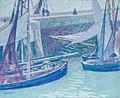 Charles Johann Palmié - Im Hafen von Honefleur.jpg