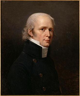 Charles Percier - Charles Percier. Portrait by  Robert Lefèvre (1807)
