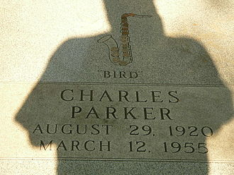 Charlie Parker - Parker's grave at Lincoln Cemetery