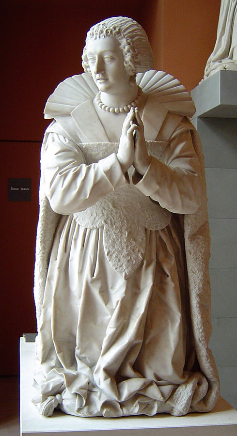 Monument funéraire de Charlotte-Catherine de La Trémoille