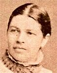 sepia portrait photo of a woman
