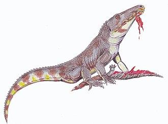Olenekian - Chasmatosuchus