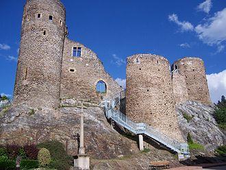 Saint-Étienne - Rochetaillée castle