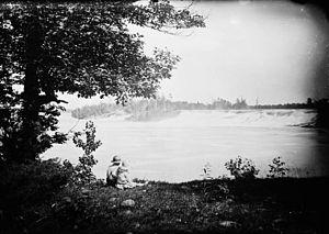 Chats Falls - The Chats Falls circa 1910.