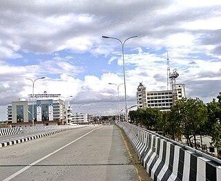 Palayamkottai Neighborhood in Tirunelveli, Tamil Nadu, India