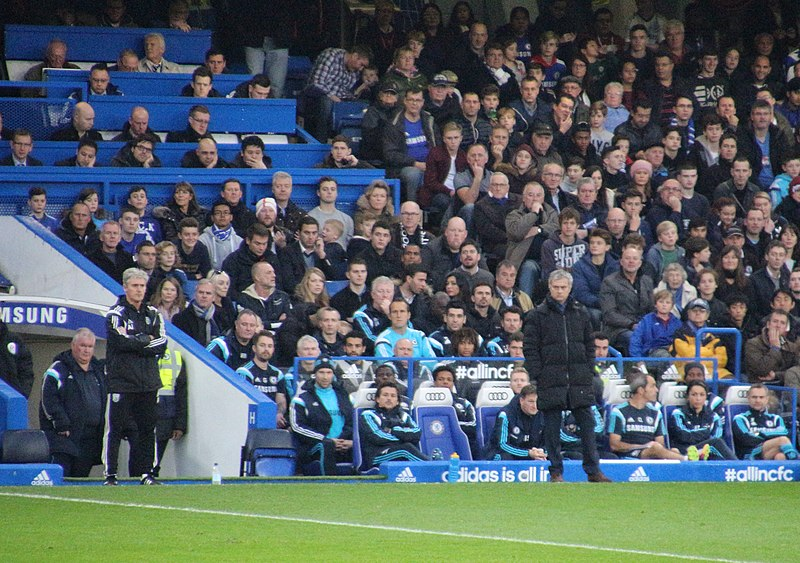 File:Chelsea 2 West Brom 0 The Blues go marching on. (15672994247).jpg