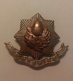 Cheshire Regiment - Cap badge of the Cheshire Regiment