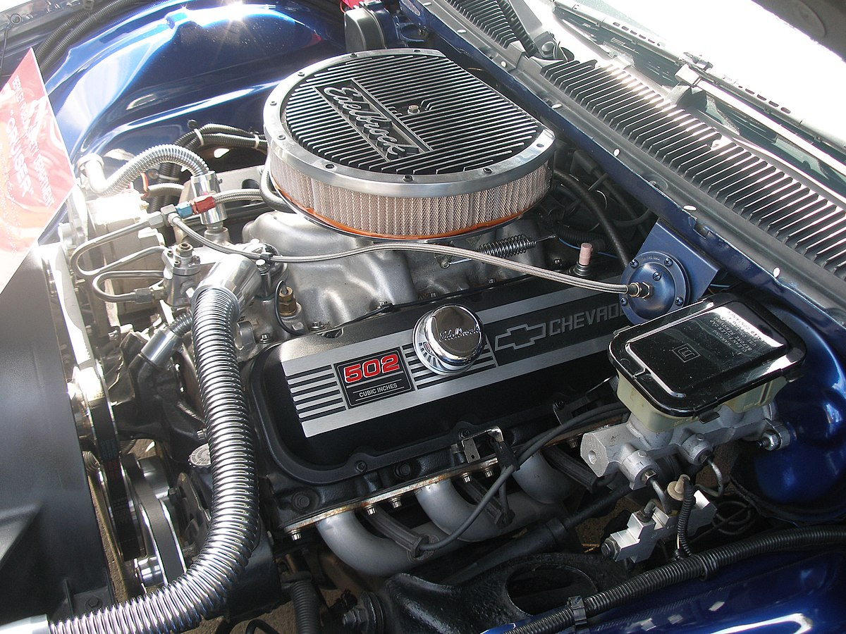 chevrolet big block engine wikipedia 06 Mustang Engine Diagram