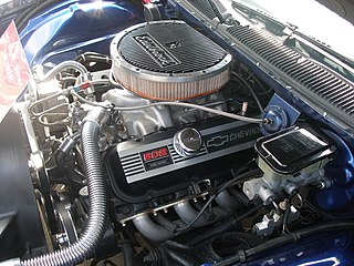 Chevrolet big-block engine car engine