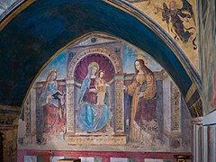 Chiesa del Carmine Madonna con Bambino e Santi Ferramola Brescia.jpg