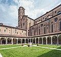 Chiesa di San Lorenzo a Vicenza - Campanile e chiostro.jpg