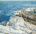 Childe Hassam - The South Ledges, Appledore - Google Art Project (576052).jpg