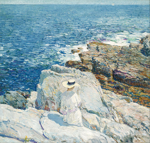 Childe Hassam - The South Ledges, Appledore - Google Art Project (576052)