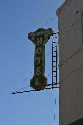 Chinook, Montana - Image: Chinook Hotel