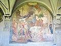 Chiostro grande di smn, lato sud 10 giovan battista paggi, s. caterina da siena prega per i condannati a morte, 1581-84.JPG