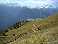 Chitral City Side View From Birmogh Lasht (Chitral Gol National Park),Chitral,KPK.jpg