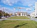 Chlebovická, výstavba budovy.jpg