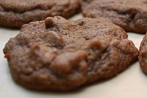 Chocolate Cookies with Chocolate Peanut Butter...