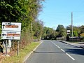 Choice of scenic routes at Parkend - geograph.org.uk - 1532941.jpg