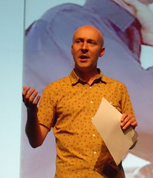 "Christopher Brookmyre - Brookmyre at ""Bloody Scotland"", Stirling 2013"