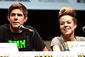 Chris Lowell & Tina Majorino 2013 SDCC.jpg