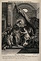 Christ raises Jairus' daughter. Etching by J. Kirk after C. Wellcome V0034917.jpg