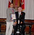 Christopher Magaoay with Lieutenant Governor of Ontario..jpg