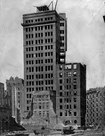 English: Photograph of the Chronicle Building ...