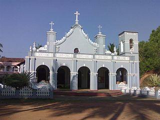 Church of Most Holy Saviour, Agrar Church in Dakshina Kannada district, Karnataka