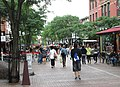 Church Street Marketplace Burlington Vermont looking south from Bank Street.jpg