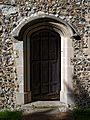 Church of St Mary the Virgin, Sheering, Essex ~ chancel south door.jpg