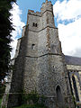 Church of the Holy Cross, Goodnestone - tower from south.jpg