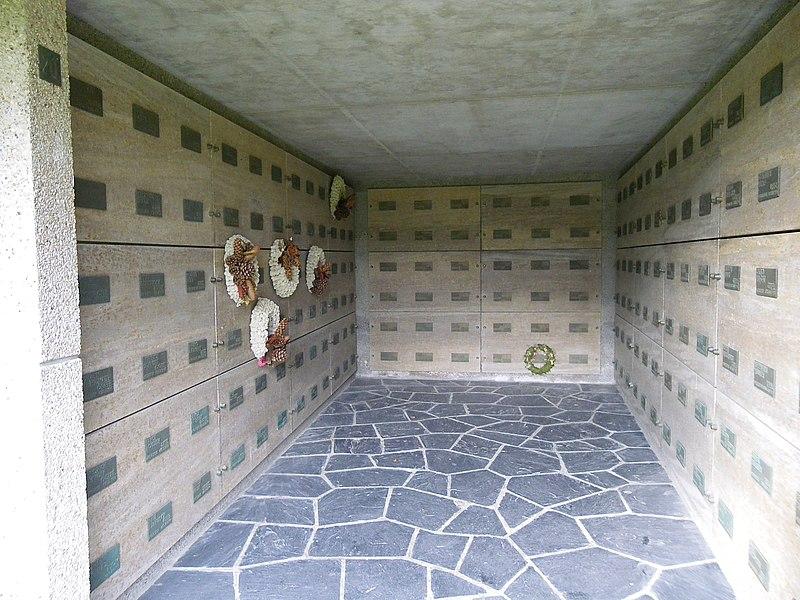 Cimetiere allemand du mont de l'huisnes